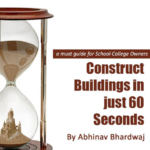 Construct building just 60 secs by Abhinav Bhardwaj